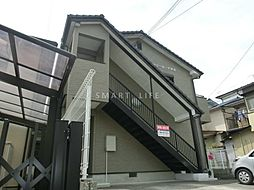 滋賀県大津市唐崎2丁目の賃貸アパートの外観