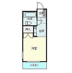 ロイヤルマンション[304号室号室]の間取り
