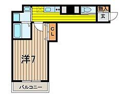 (仮称)浦和区東仲町新築ビル[302号室]の間取り