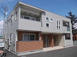 長野県千曲市大字桜堂の賃貸アパートの外観