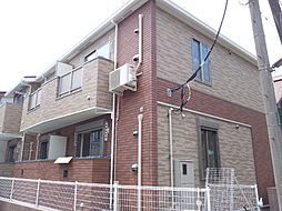 神奈川県横浜市港北区篠原北2丁目の賃貸アパートの外観