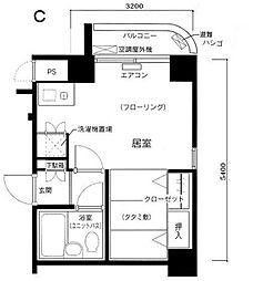 東京都文京区水道1丁目の賃貸マンションの間取り