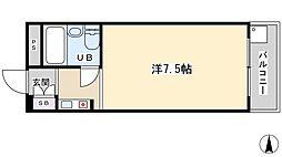 グリーン32[305号室]の間取り