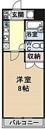 若草フェニックスマンション[108号室号室]の間取り