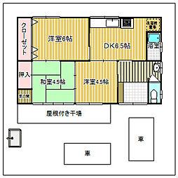 [一戸建] 愛知県あま市七宝町遠島新開 の賃貸【/】の間取り