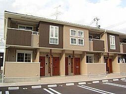 宮城県名取市美田園6丁目の賃貸アパートの外観