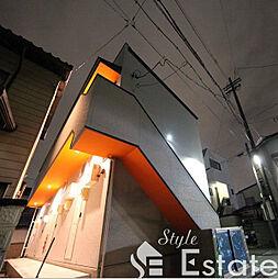 愛知県名古屋市南区中割町1丁目の賃貸アパートの外観