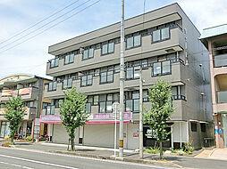 滋賀県草津市野村6丁目の賃貸マンションの外観