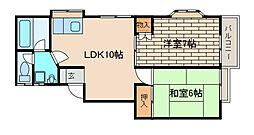 ウッディーハウス[2階]の間取り