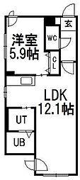 KDMハイツ[3階]の間取り