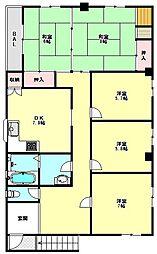 [一戸建] 兵庫県神戸市西区南別府1丁目 の賃貸【/】の間取り