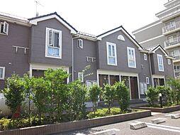 埼玉県春日部市緑町2丁目の賃貸アパートの外観