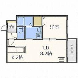 BLOOM N24[4階]の間取り