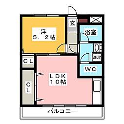 いりなか駅 4.5万円