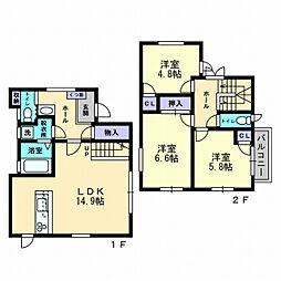 Casa iwasaki[UNO号室]の間取り