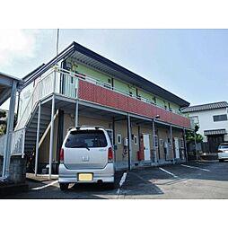 静岡県三島市大場の賃貸アパートの外観
