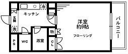 ソナーレ立川II[3階]の間取り
