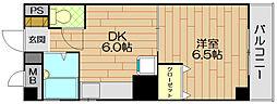 エムコート壱番館[2階]の間取り
