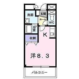 COURT LIVELY[3階]の間取り