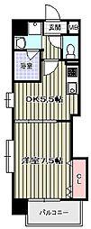 ブルージュ天王寺[8階]の間取り