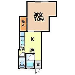 メゾンシンミチ[2階]の間取り