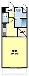 愛知環状鉄道 新豊田駅 3.5kmの賃貸アパート 1階1Kの間取り