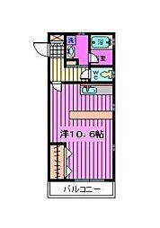 ZCO並木ビル2ND[207号室]の間取り