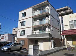 北海道札幌市中央区南十九条西9の賃貸マンションの外観