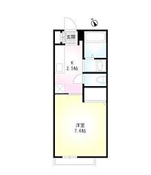 ミラージュコート[2階]の間取り