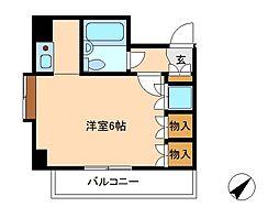 パインコープII[2階]の間取り