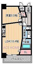 Zeus西梅田premium[506号室号室]の間取り