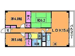 トミゾー[3階]の間取り
