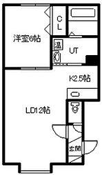 神楽1条7丁目新築[1階]の間取り