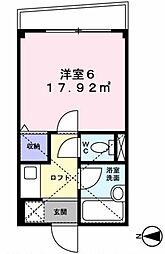アートフル上石神井[301号室]の間取り
