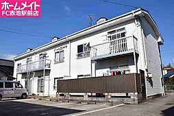 愛知県名古屋市緑区鳴海町字三高根の賃貸アパートの外観
