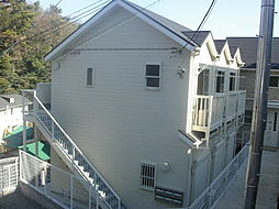 神奈川県横浜市南区中里3の賃貸アパートの外観