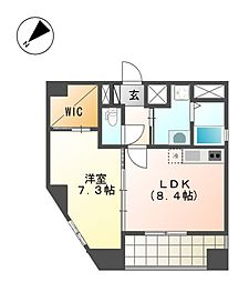 YOSHINO SQUARE[3階]の間取り