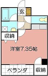 ピアーノ・KM21[102号室]の間取り