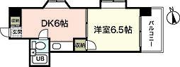 パティシエール吉川[9階]の間取り