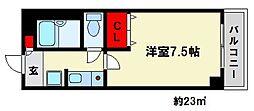 MARINA春日原[5階]の間取り