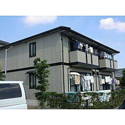 静岡県浜松市東区西ケ崎町の賃貸アパートの外観