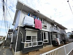 千葉県成田市美郷台1丁目の賃貸アパートの外観