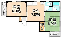 ESIビル[3階]の間取り