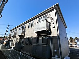 千葉県八街市文違の賃貸アパートの外観
