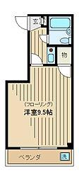 西新宿アーバンフラッツ[301号室]の間取り