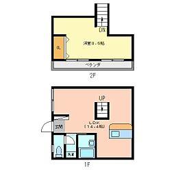 フレグランスダイワI[2階]の間取り