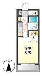 CASA NOAH 名古屋II[3階]の間取り