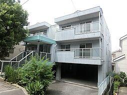 大阪府茨木市上中条2丁目の賃貸マンションの外観