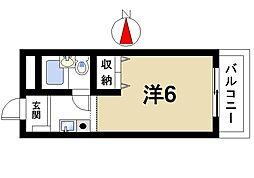 三芳ビル[2階]の間取り