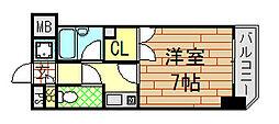 ライズィングサン[4階]の間取り